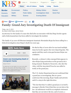 Family: Grand Jury Investigating Death Of Immigrant